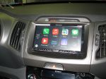 Apple CarPlay v provozu s iPhone 5